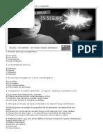Hoja de Respuesta Ensayo 4 Cuarto Basico