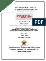 Project Report Berger Paints Gaurav Tripathi (MBA)