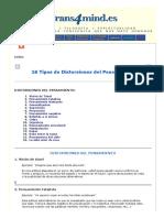 Transformación de la Mente - 16 Tipos de Distorsiones del Pensamiento.pdf