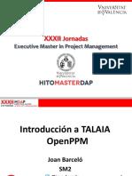 01. Introducción TALAIA OpenPPM