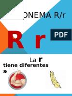 LA LETRA R