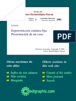Revista del Centro Dermatológico Pascua