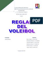 Reglas Actualizadas Del Voleibol