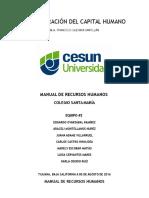 Manual de Recursos Humanos - Colegio Santa María.docx