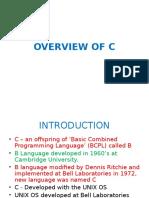 C Intro&Fundamentals