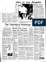 Manson murders front page