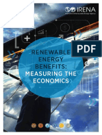 IRENA Measuring the Economics 2016