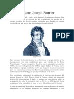 Biografia de Furier