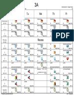 3a schedule