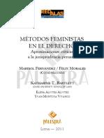 Derecho Penal y Métodos Feministas - Yvan Montoya Vivanco