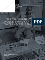 The Synergies Between Mobile, Energy and Water Access_ Africa