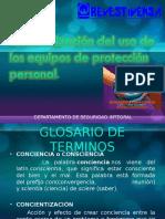 Charla Concientizacion Del Uso de Los Equipos de Proteccion Personal.