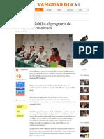 04-08-16 Arranca en Saltillo El Programa de Dotación de Cuadernos
