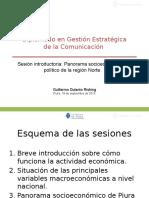 20150918_Panorama Socioeconómico de Piura_Guillermo Dulanto