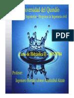 Hidraulica II-11 Flujo Gradualmente Variado-1