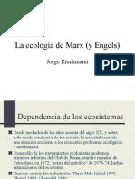 La Ecologc3ada de Marx