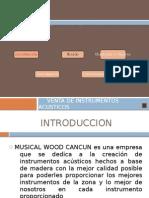 Musical Wood Cancún Presentacion