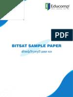 BITSAT Sample Question Papers