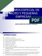 Regimen Especial Microempresa Peque Empresa