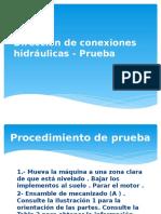 Circuito de Direccion Hidraulica - Prueba