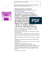 "2010_Ellis et al._Planning Theory & Practice Wind Power Is There A "" Planning Problem "" Expanding Wind Power A Problem of Planning , or of Perception The Problems Of Planning — A Developer ' s Perspective Wind Farm.pdf"
