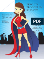 Zero to Blogger in 30 Days! - Sarah Arrow - 2014.pdf