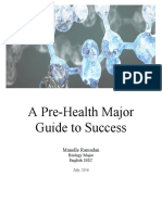 resource guide--prehealth