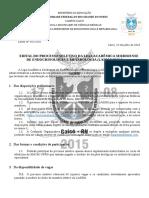 Edital do Processo Seletivo da Liga Acadêmica Seridoense de Endocrinologia e Metabologia (Lasem) 2016-2.docx