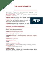 Instrucciones ATR