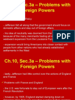 ch 10 sec 3 problems with foreign powers