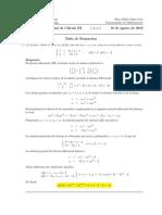 Corrección Examen Final Cálculo III, 10 de agosto 2016 (tarde)
