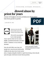 Spotlight Church Abuse Report_ Church Allowed Abuse by Priest for Years - The Boston Globe