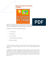 Las 5S Estrategia Para La Prevención de Accidentes de Trabajo