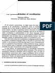 The Grammaticization of Coordination
