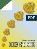 Rotary Actuator 2014 LR