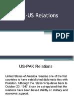 Pak Us Relation