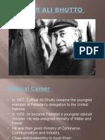 Za bhutto era