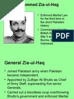 Zia to Musharraf