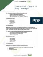 TnL CA Economic Survey 2016-17 Question Bank - Volume 1 - Complete