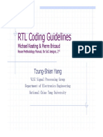 RTL Coding Guidelines