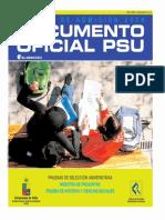 2006 Demre 18 Muestra Preguntas PSU Historia
