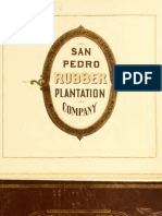 (1904) San Pedro Rubber Plantations Company