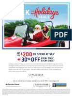 August Holiday Consumer Flyer