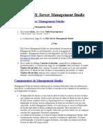 Iniciar SQL Server Management Studio