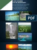 Cuales Son Lugares Turísticos de Honduras