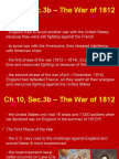 ch 10 sec 3b the war of 1812