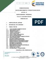 Acta No. 10 de 2015 Sempb