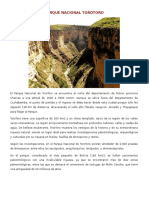 Parque Nacional Torotoro