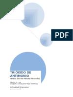 Trióxido de Antimonio