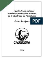 Descripción de Las Actividades Económicas de La Quebrada de Humahuaca
